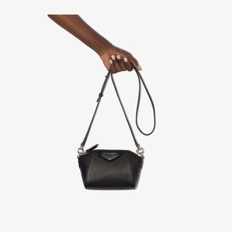 Givenchy Black Nano Antigona leather cross body bag