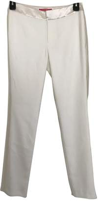 Catherine Malandrino White Trousers for Women