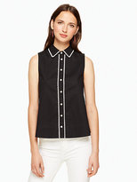 Kate Spade Lace inset sleeveless top