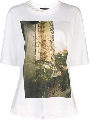 Simone Rocha photo print T-shirt