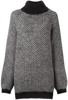 Marc Jacobs oversized jumper - women - Silk/Mohair - M