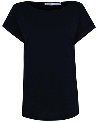 Oasis Roll Sleeve T-Shirt