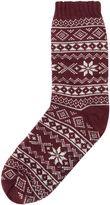 Howick Fairisle Slipper Sock
