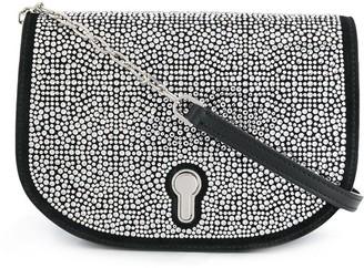 Bally Clayn crystal-embellished crossbody bag