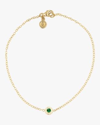Octavia Elizabeth Emerald Nesting Bracelet