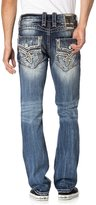 Rock Revival Men's Tomshi A204 Alt Straight Cut Jeans