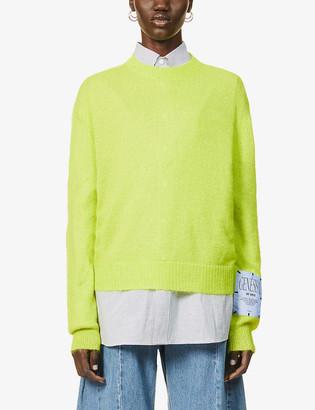 McQ Genesis II knitted jumper