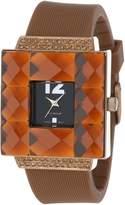 Rocawear Women's RL0126BR1-050 Stylish Bracelet Enamel Bezel Watch