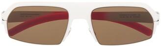 Mykita x Bernhard Willhelm Lost square-frame sunglasses