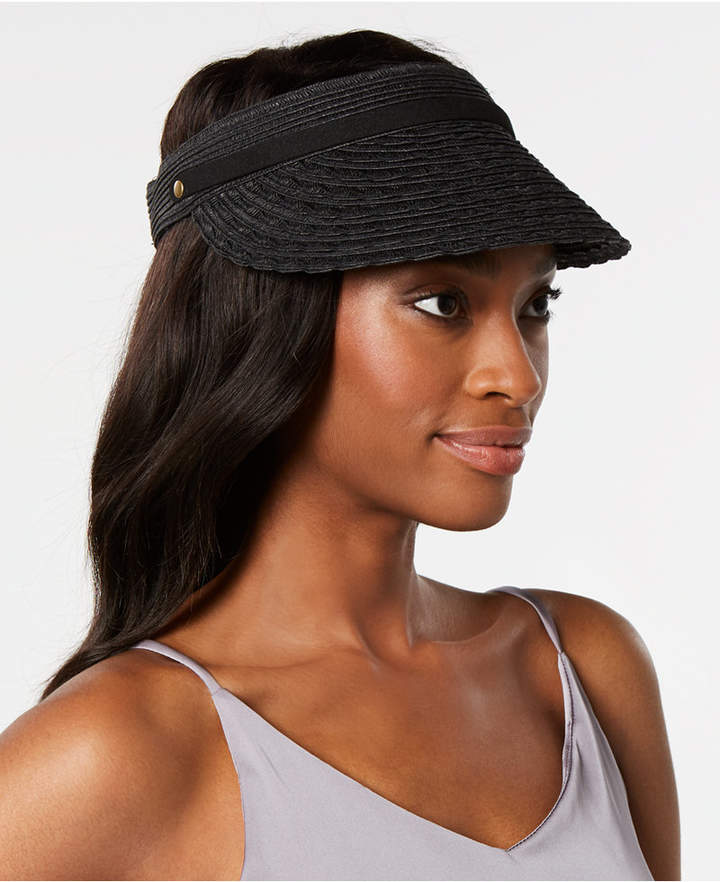 Nine West Packable Straw Visor