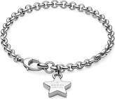 Gucci Trademark star sterling silver bracelet