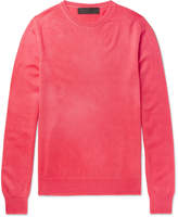 The Elder Statesman Billy Oversized Cashmere Sweater