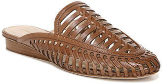 Veronica Beard Albani Woven Leather Mules