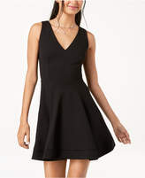 B. Darlin Juniors' Tie-Back Fit & Flare Dress