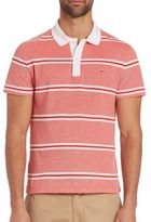 Lacoste Pique Double Stripe Polo Shirt