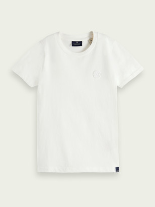 Scotch & Soda Striped organic cotton T-shirt | Boys
