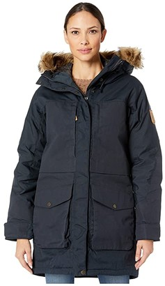 Fjallraven Barents Parka (Dark Navy) Women's Coat