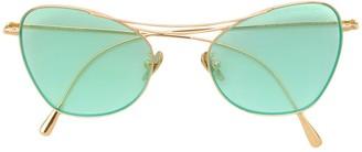 Cutler & Gross cat-eye shaped sunglasses