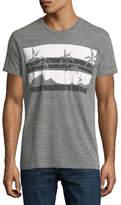 Sol Angeles Las Palmas Heathered Crewneck T-Shirt