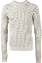 Rick Owens crew neck jumper - men - Cotton - XL