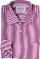 Double Two Cotton Micro Twill Stripe Shirt