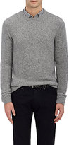 Ralph Lauren Purple Label Men's Cashmere Herringbone-Stitched Sweater