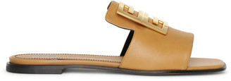 Givenchy 4G brown flat sandals