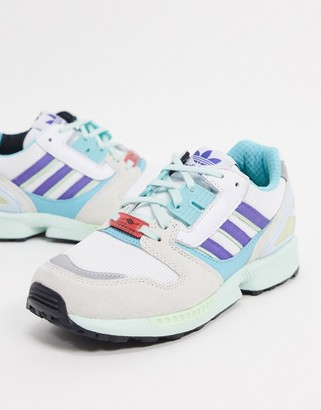 adidas ZX 8000 trainers in blue