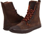 Tretorn Klipporone Leather Boot (Brown/Mandarin Orange) - Footwear