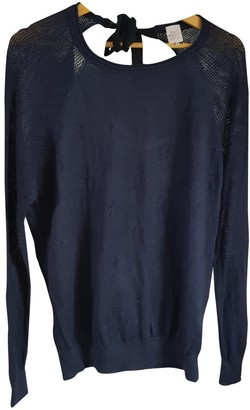 Karl Lagerfeld Paris Marc John Navy Cotton Knitwear for Women