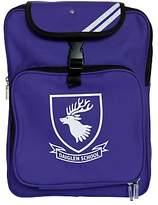 Unbranded Daiglen School Unisex Backpack, Purple