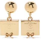 Moschino Gold-Plated Earrings