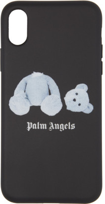 Palm Angels Black Ice Bear iPhone X Case