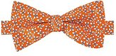 Tommy Hilfiger Men's Four Petal Flower Self Tie Bow Tie