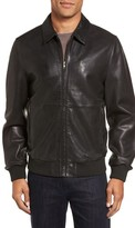 Nordstrom Men's Leather Bomber Jacket