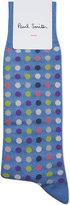 Paul Smith Confetti Spot Cotton-blend Socks