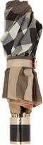 Burberry Trafalgar checked folding umbrella