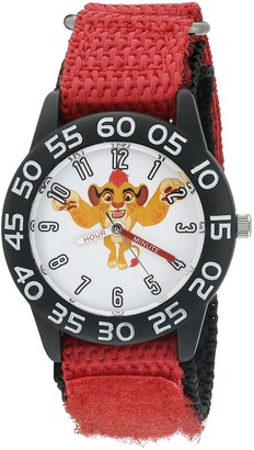 Disney Boy's 'Lion Guard' Quartz Plastic and Nylon Watch