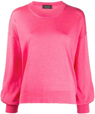 Roberto Collina Bell-Sleeved Knitted Top
