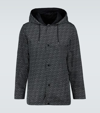 Burberry Elmhurst reversible rain jacket
