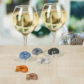 Sur La Table Fred Wine Lives Charms, Set of 6