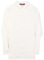 White Linen Blouse - ShopStyle