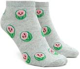 Forever 21 FOREVER 21+ Happy Watermelon Ankle Socks