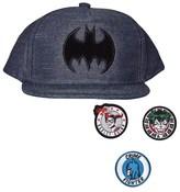 Fabric Flavours Batman Interchangeable Badge Cap