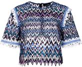 Saloni open back T-shirt