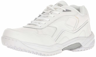 AdTec Ad Tec Women's 9632 Uniform Athletic Lace Up White Work Shoe Numeric_10_Point_5 Wide
