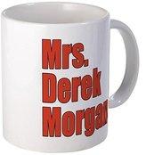 11 ounce Mug - Mrs. Derek Morgan Criminal Minds Mug - S White by Coffee Mug