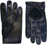 Etro perforated gloves