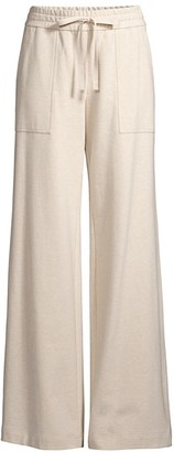 Lafayette 148 New York Webster French Terry Drawstring-Waist Pants