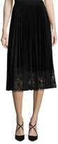Vivienne Tam Lame Sun Pleated Skirt